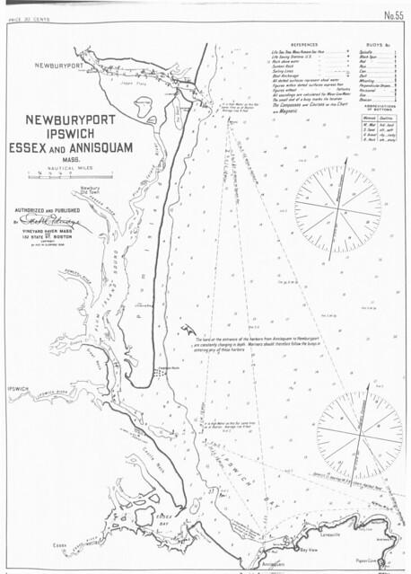 Newburyport [and] Ipswich [and] Essex and Annisquam, Mass