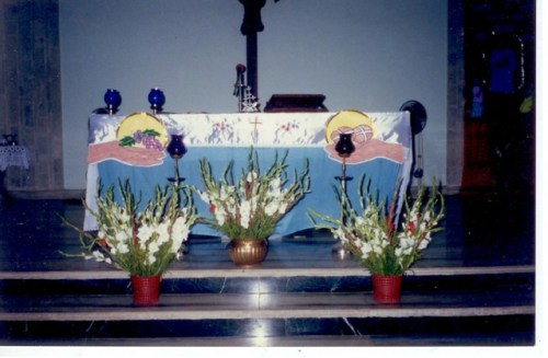 Altar Decoration By Grace Fls Share Ur Magicmoments Wid Flowers