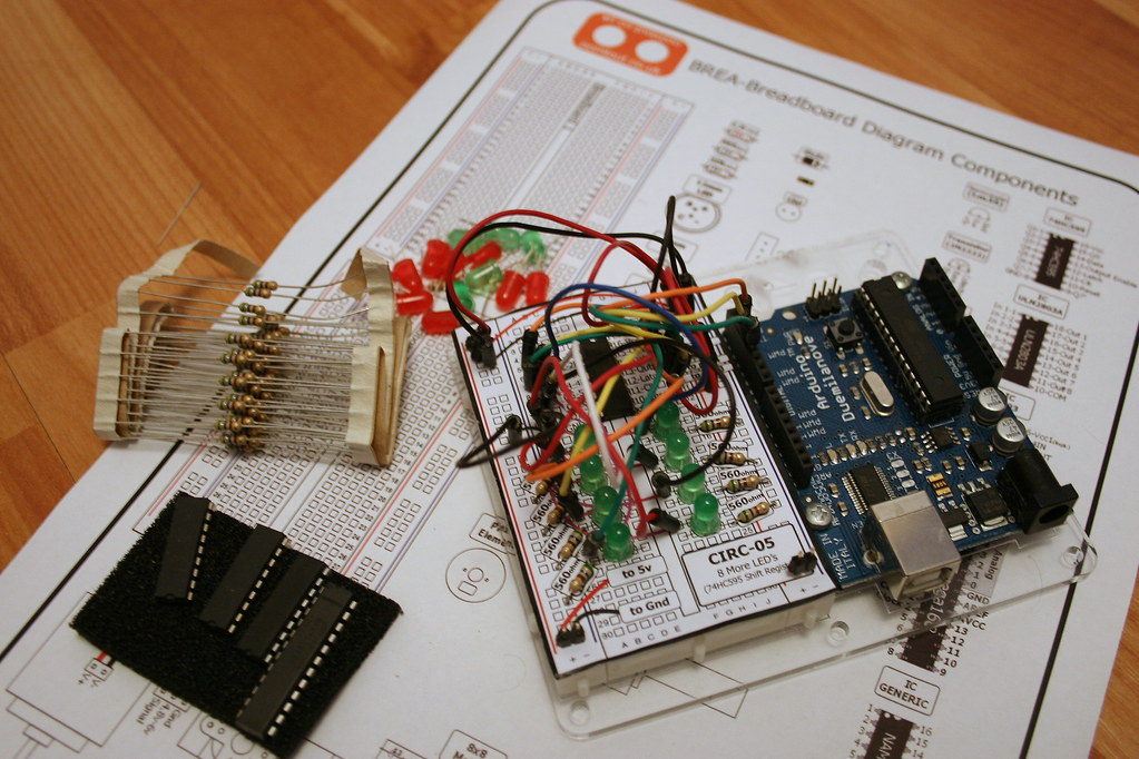 The Components In The Library Makes Setting Up A Circuit Layout Fun