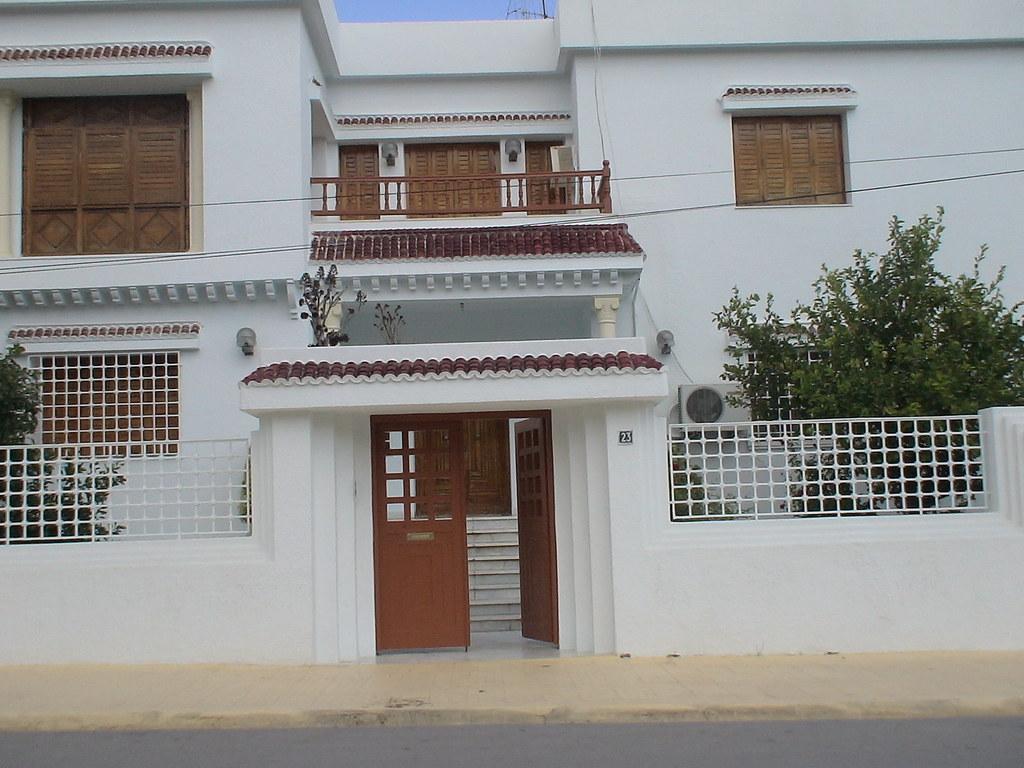 Porte Ext 233 Rieure En Fer Forg 233 Tunis Maisons Citizen59