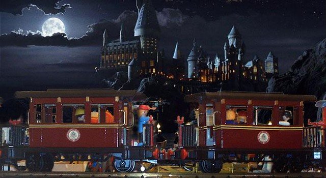 Playmobil Harry Potter Tren Train Custom 2 Goonies Never