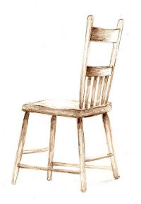 Pencil Drawing/old chair | mdpohl2 | Flickr