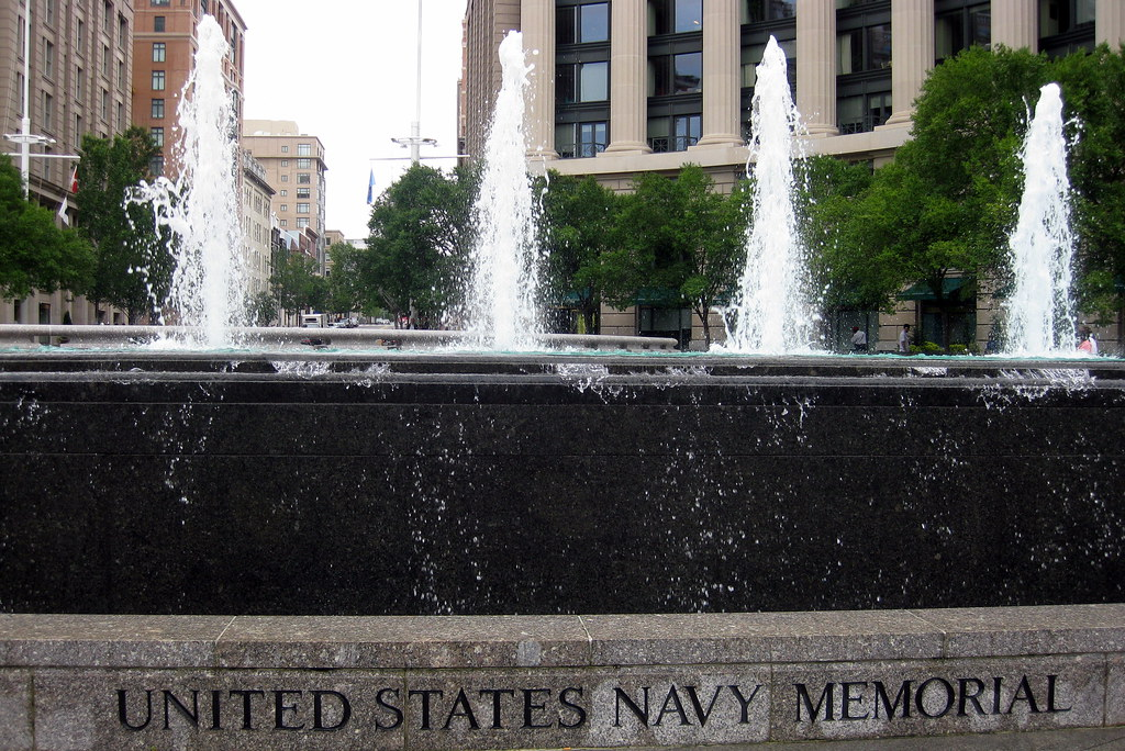 Washington DC  Penn Quarter United States Navy Memorial  Flickr