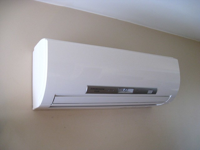 Meet Mr Slim New AC unit downstairs  Posted via email