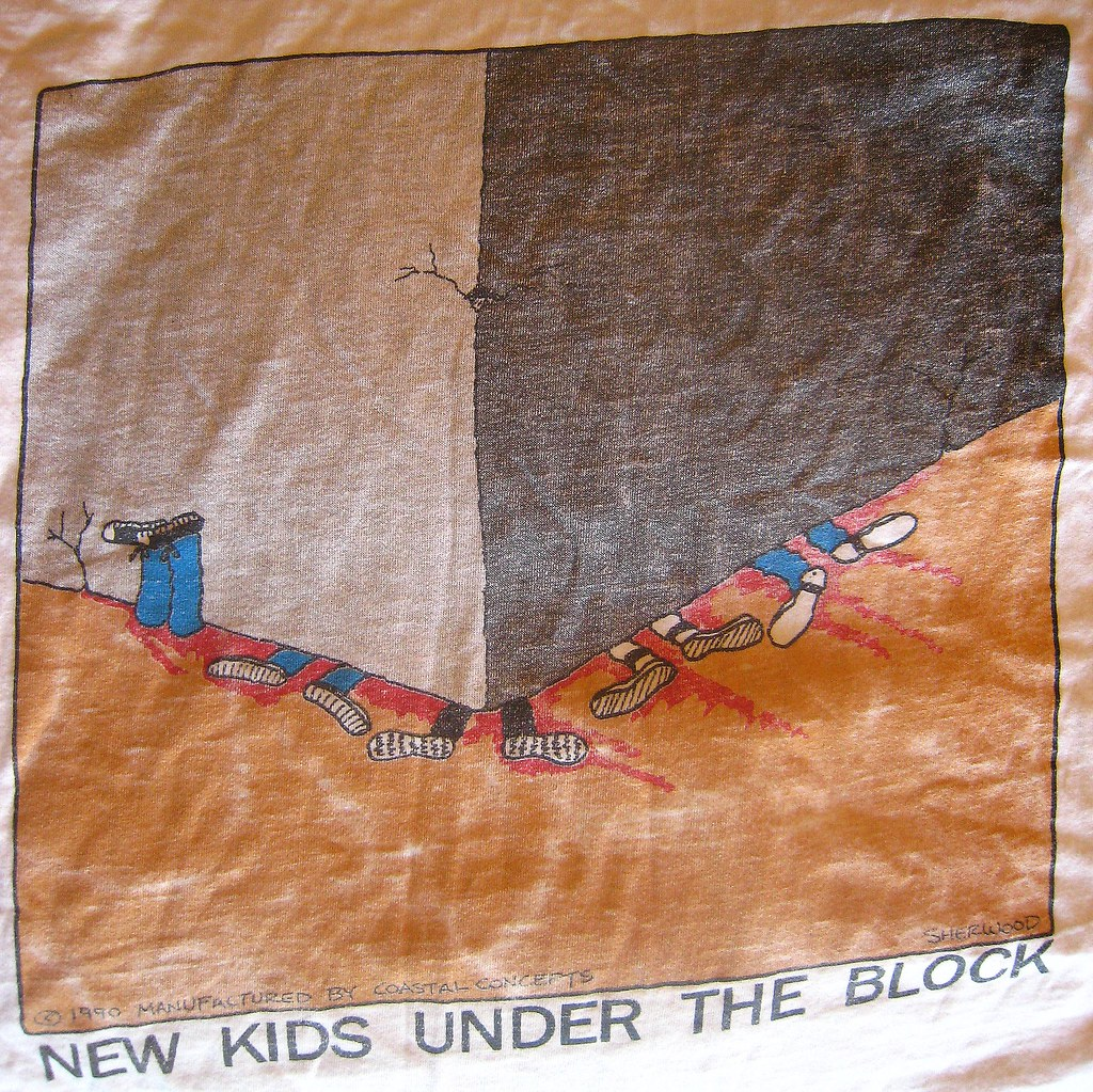 New Kids Under The Block  Teeshirt I Wore In The 90s  Flickr