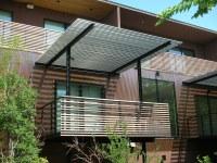4145 Buena Vista | Rear balcony and trellis overlooking ...