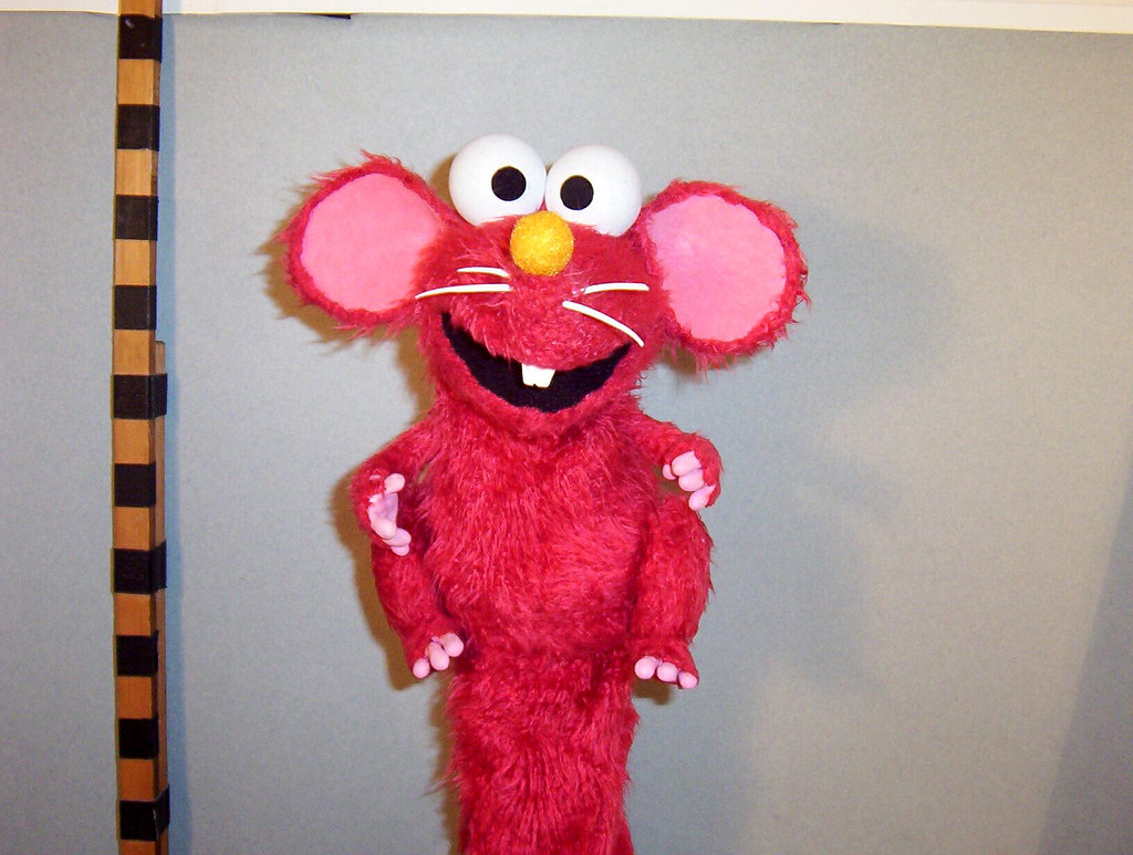Elmo as a Mouse  mnkynuts  Flickr