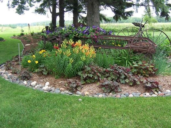 0863garden art landscaping