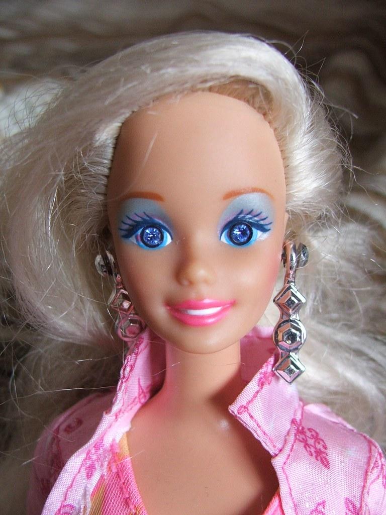 Sparkle Eyes Barbie Yolkfolk Flickr