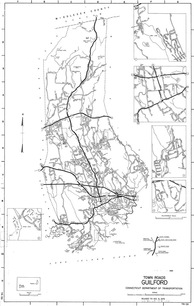 Town roads Guilford/ Connecticut Department of transportat