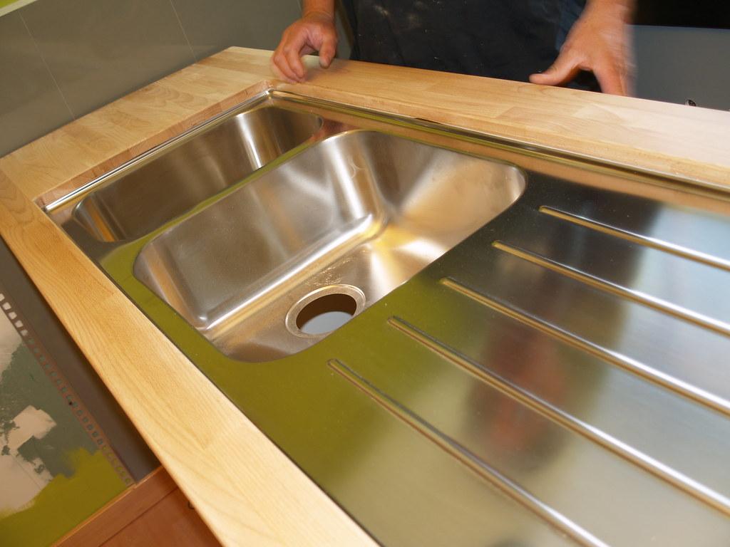 boholmen undermount  we put the large double bowl