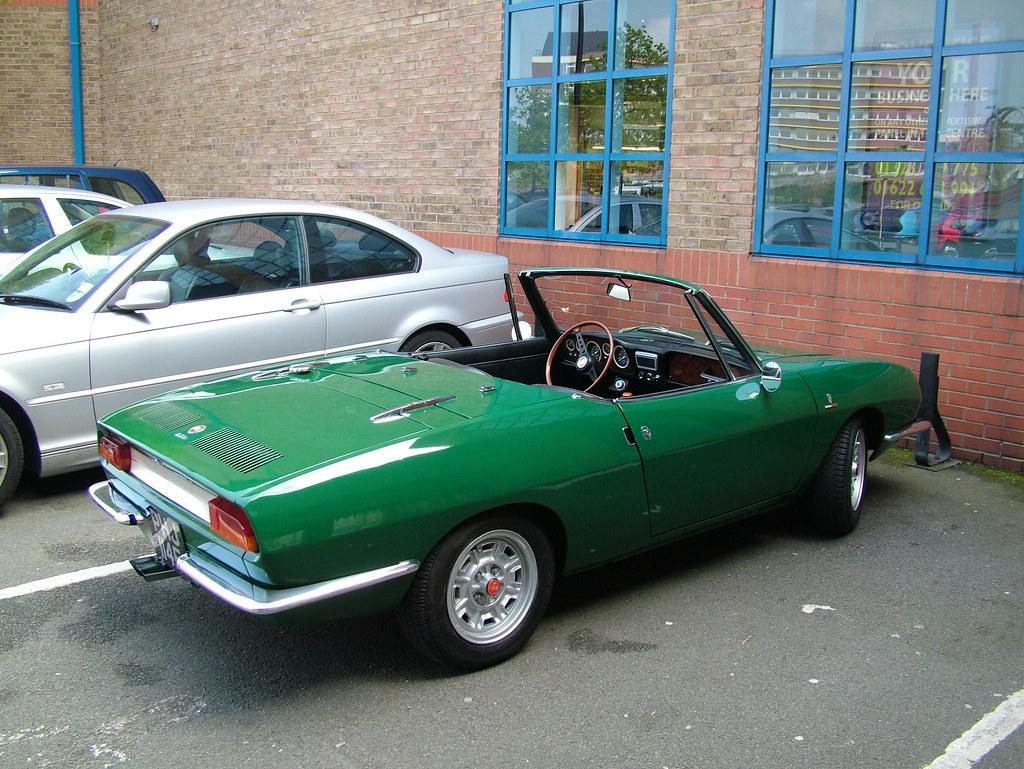 67 Fiat Spider 850  1967 Fiat 850 Spider Bertone styled