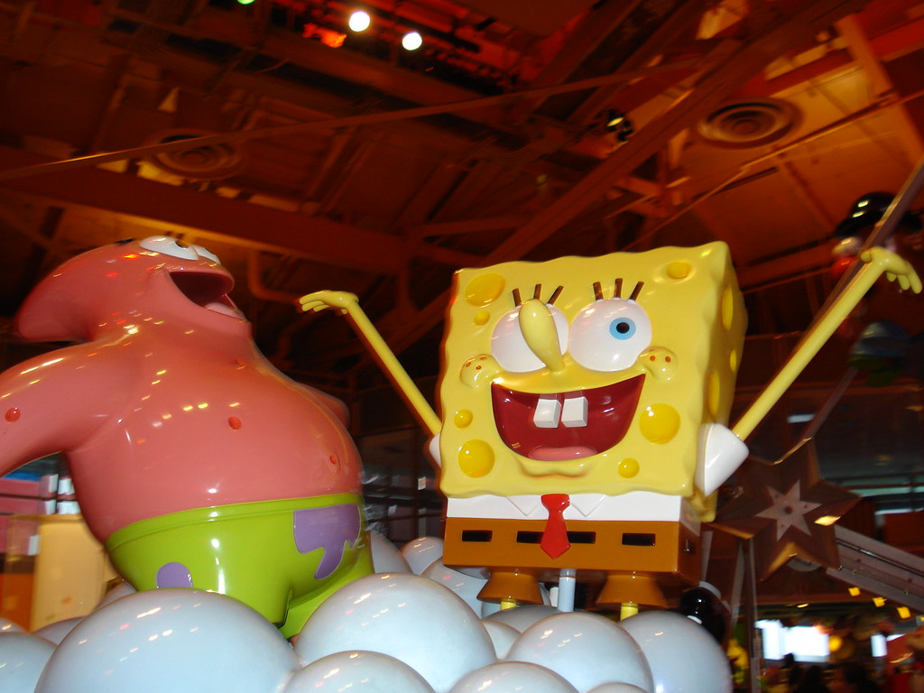 Kinderzimmer Teppich Toys R Us Spongebob And Patrick Toys R Us Times Square New York