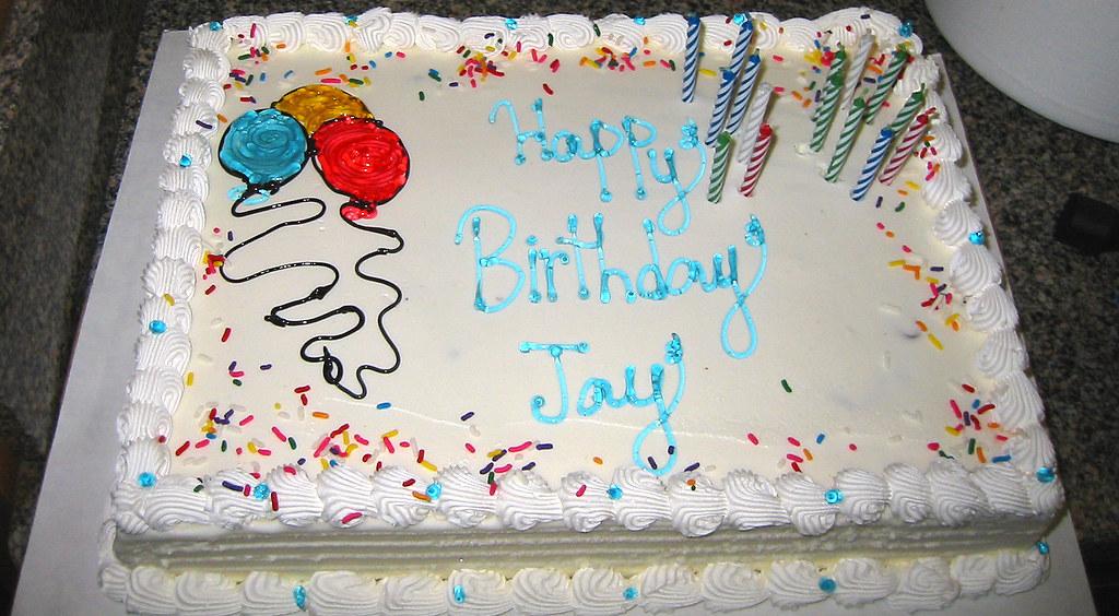 20090321 Jay S 30th Birthday Party Jay S Ice Cream Cak