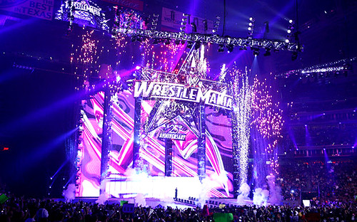 Reliant Stadium Wrestlemania 25