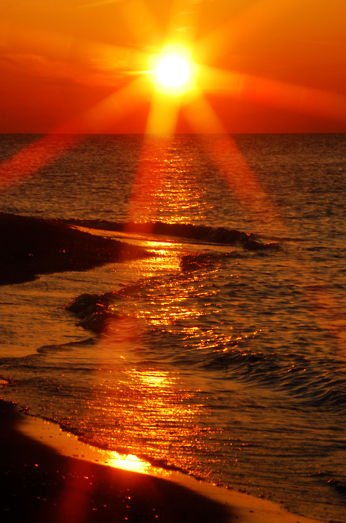 Sunset At Lakeview Park Lorain Rona Proudfoot Flickr