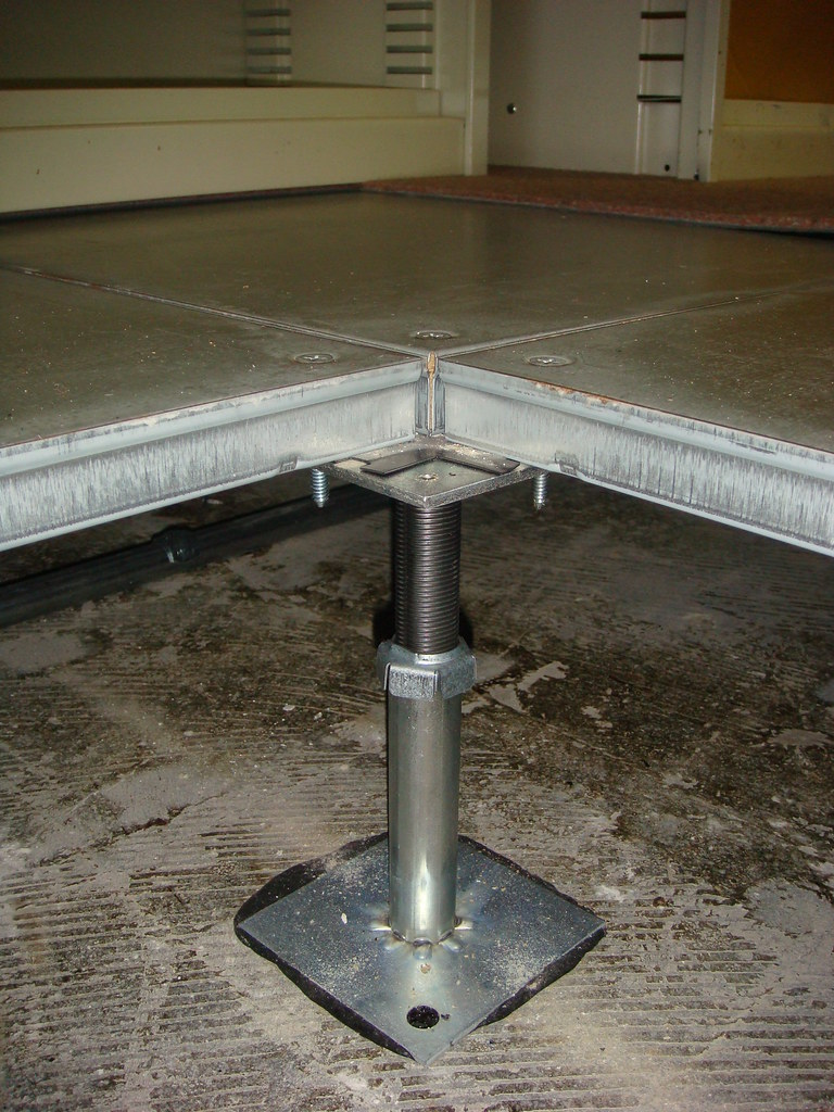 Asbestos Mastic Platform Floor Support Bracket  Example