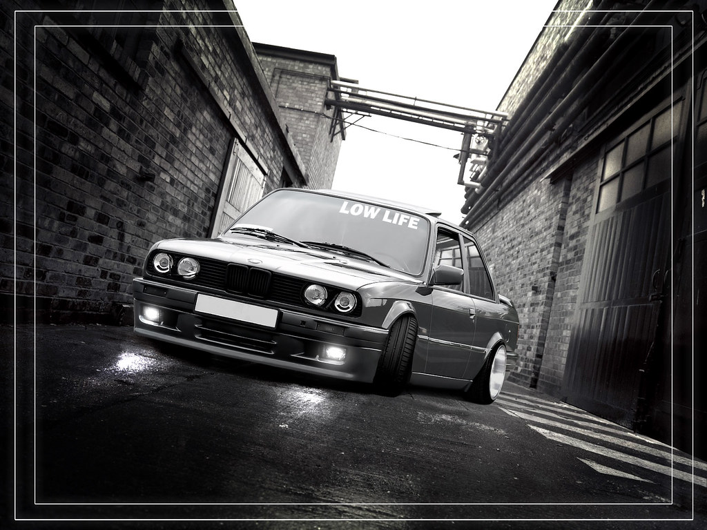 3d Wallpaper On Iphone Bmw E30 Low Edition Virtual Tuning More Www