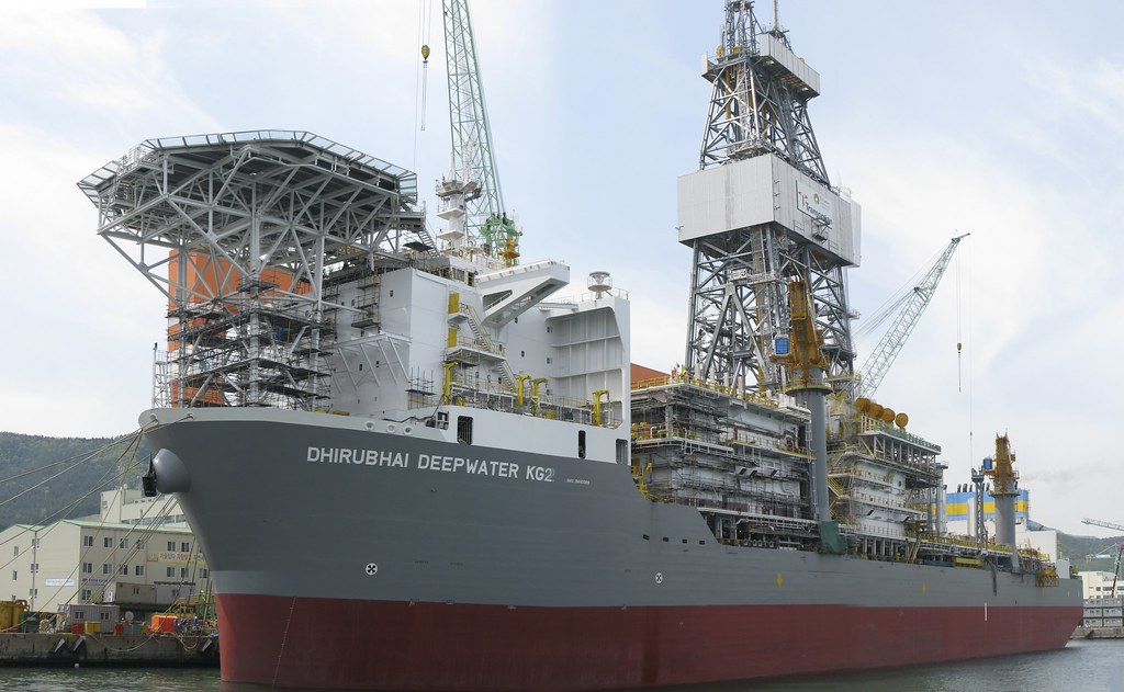 Dhirubhani Deepwater KG2  Transoceans newest drillship