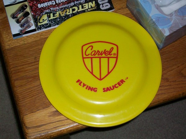 Carvel Flying Saucer retro An old frisbe circa 198039s