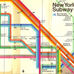New York City Subway Diagram Cat6 Crossover Cable Wiring Map, 1970s | In 1972 The Italian Designer Ma… Flickr