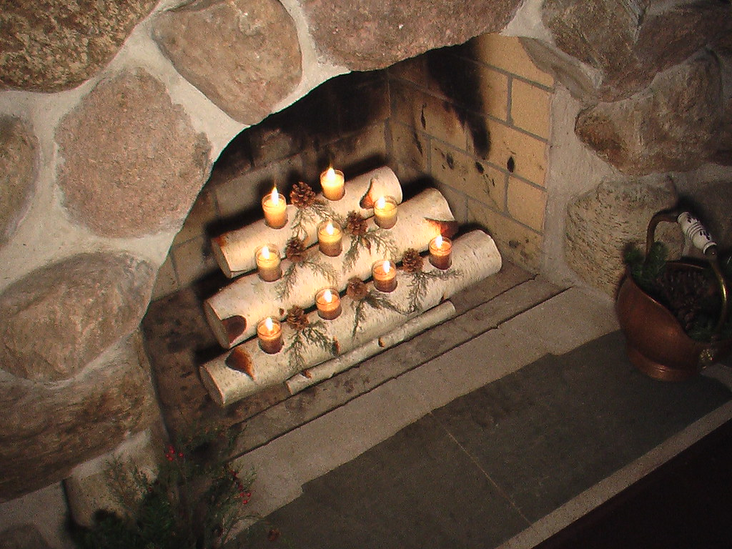 Fireplace Candelabra  Recapturing the charm and serenity