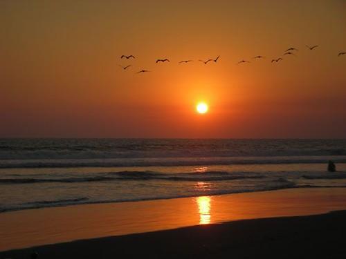 apuesta De Sol  Preciosa Puesta de Sol en la Costa Del