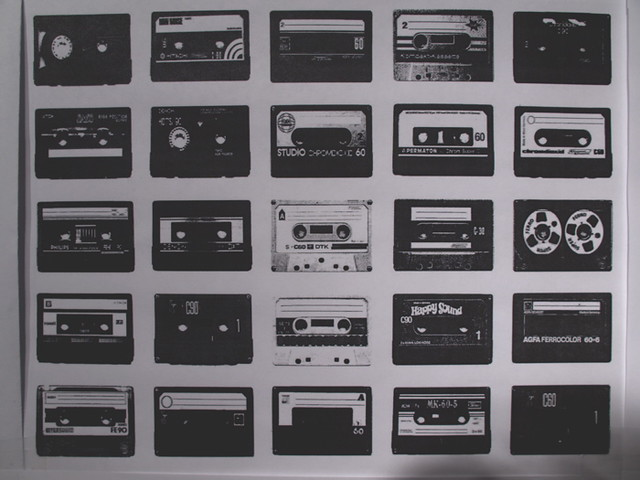 3d Music Wallpaper Cassette Tape Wallpaper I Still Have A Few Of These