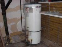 Basement water heater