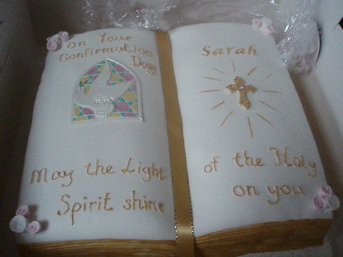 Confirmation Cake  Flickr  Photo Sharing