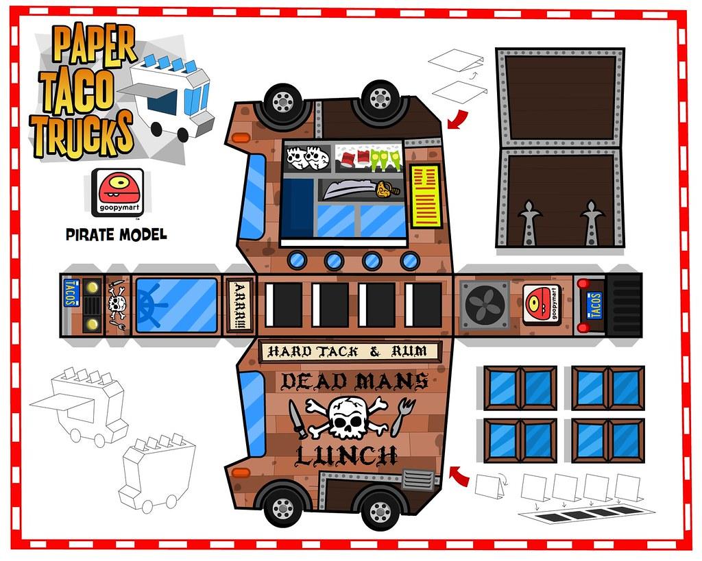 Paper Taco Truck 03