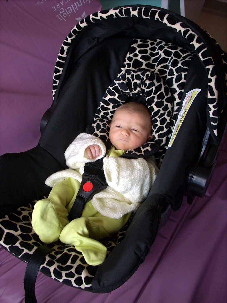 Car Seat 1 Ready To Go Home In Emma S Old Car Seat He
