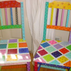 Funky Wooden Chairs Bath Chair For Disabled Adults Hand Painted Fairytale Fun Furniture1 Flickr