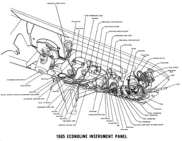 1965 econoline wiring diagram