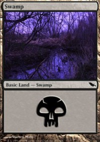 Shadowmoor swamp | A landscape inspired by the Magic: The ...
