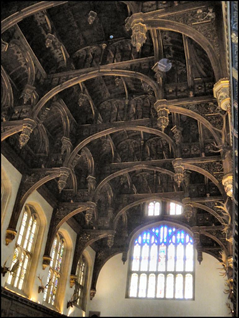 Hampton Court Palace  Tudor Great Hall hammerbeam roof st