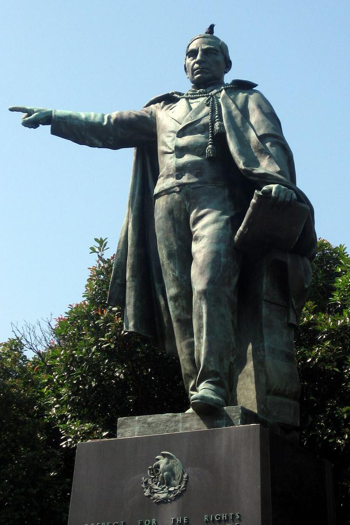 Washington DC  Foggy Bottom Benito Jurez  This statue