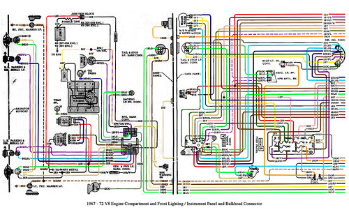 1970 chevy truck wiring diagram iei keypad 1967-72 v8 and cab | flickr - photo sharing!