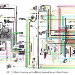 1995 Chevy S10 Alternator Wiring Diagram 2006 Yamaha F150 1967-72 Truck V8 And Cab | This Is A Gm Diagram… Flickr