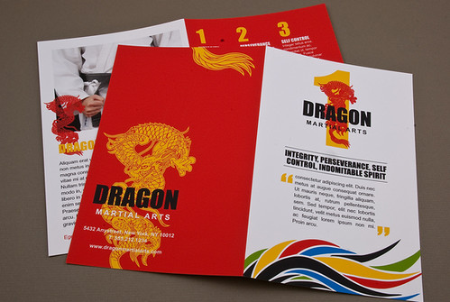 Martial Arts Academy Brochure Martial Arts Academy