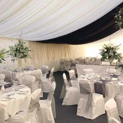 White Wedding Chair Covers Uk Leather Office Modern Reception Marquee - Bagden Hall, Scissett / Denby … | Flickr