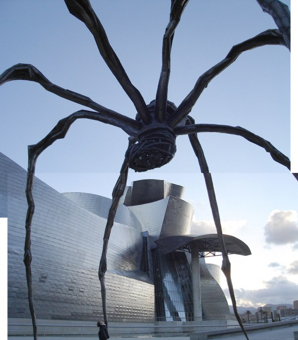 Bilbao Spain Louise Bourgeois' Spider Sculpture 'maman'