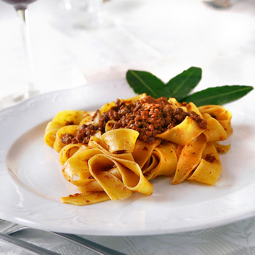Pappardella Pasta With Wild Bunny Sauce All Rights