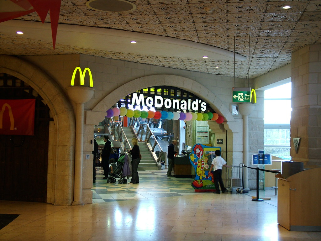 McDonalds Bluewater McDonalds Restaurant Within The