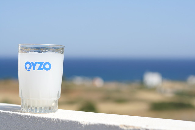 Enjoy an ice-cold ouzo from the balcony of your Rhodes villa