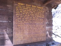 Henry Clay Iron Furnace | Description of the furnace. Can ...