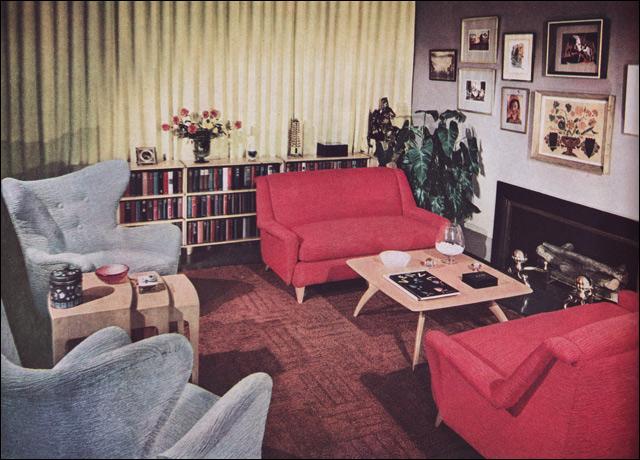 1950s Living Room  Heywood Wakefield  Modern Home