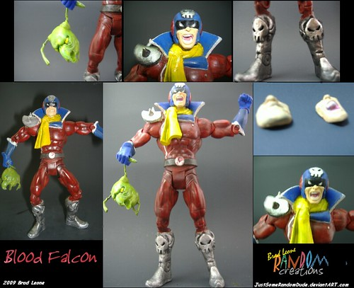 Custom Blood Falcon Figure  A special commission job I did   Flickr