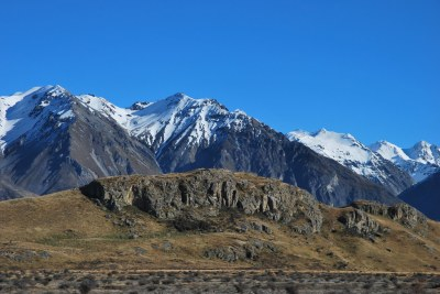 Mt Potts - Rohan Edoras LOTR - South Island - New Zealand ...