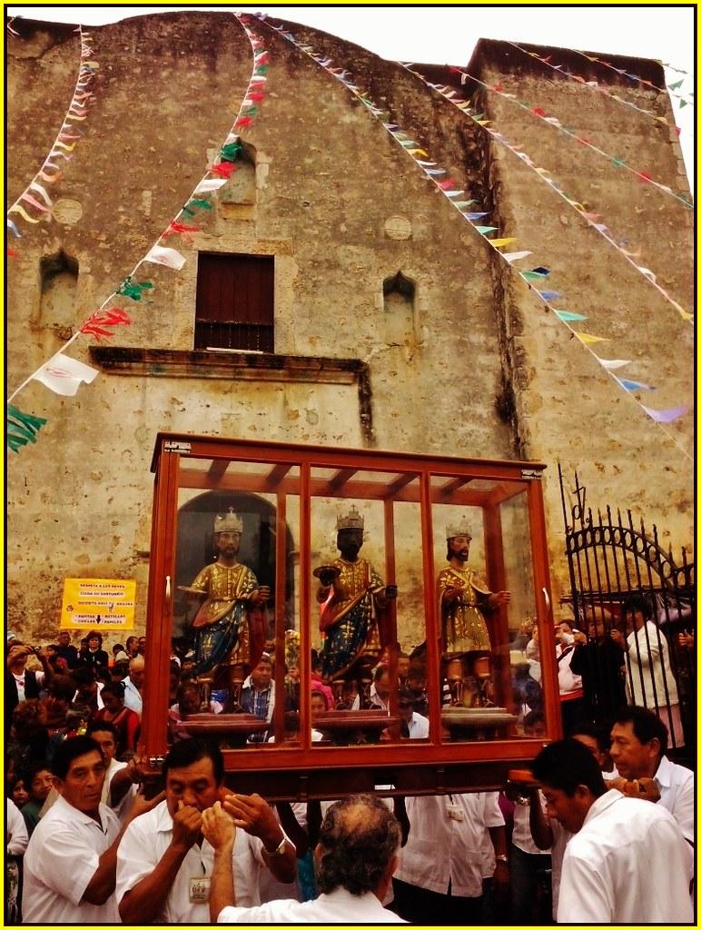 Ex Convento Franciscano De Los Santos Reyes Tizim 237 N Estado